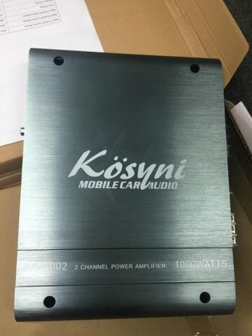 Kosyni 2 channel car amplifier
