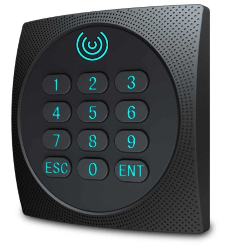 KR602E Keypad for C3 Access control system; built-in 125Khz RFID Reade..