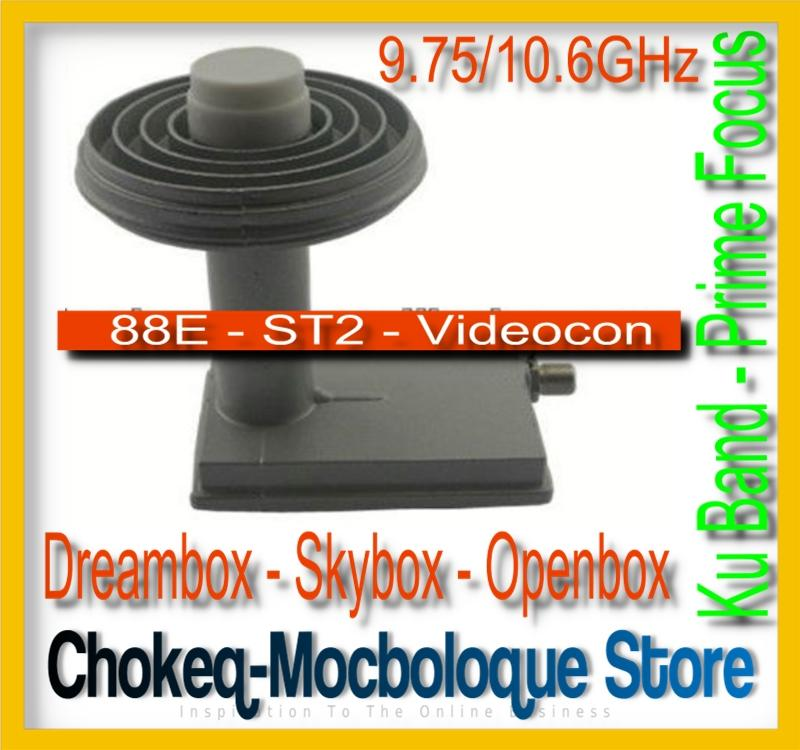 KU band prime focus HD lnb - with high gain low noise - Videocon