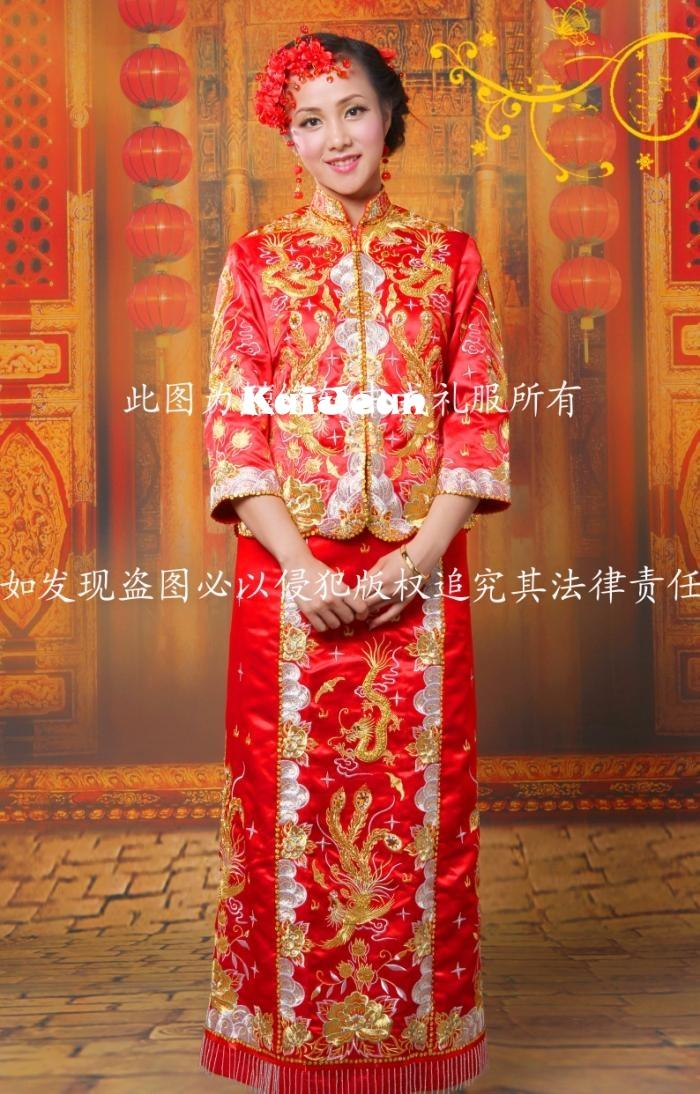 Kua chinese traditional wedding gown penang end time 9 for Chinese wedding dresses online