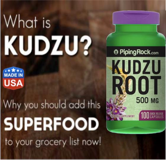 Kudzu Root 500mg, Tired, Restore Vitality, Antioxident, Isoflavone