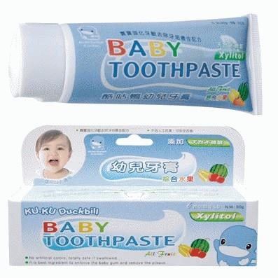 Kuku Duckbill: Baby Toothpaste All Fruits
