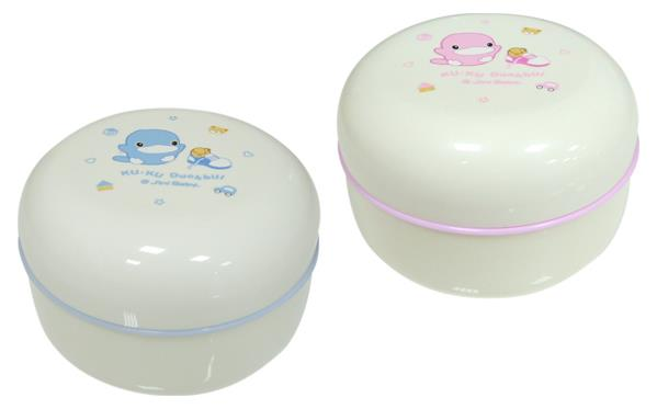 Kuku Duckbill Powder Puff & Case