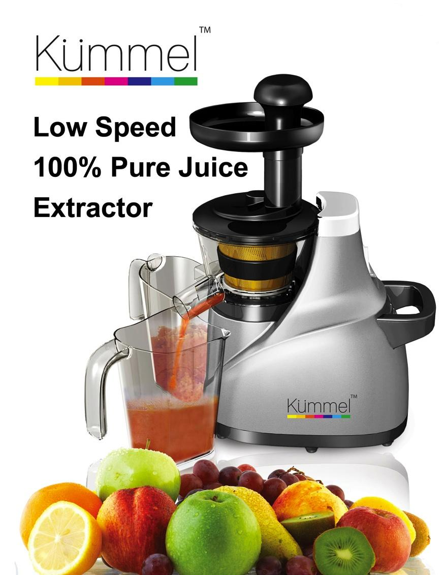 Kummel German Technology Slow Juicer, 100% Pure Juice Extractor
