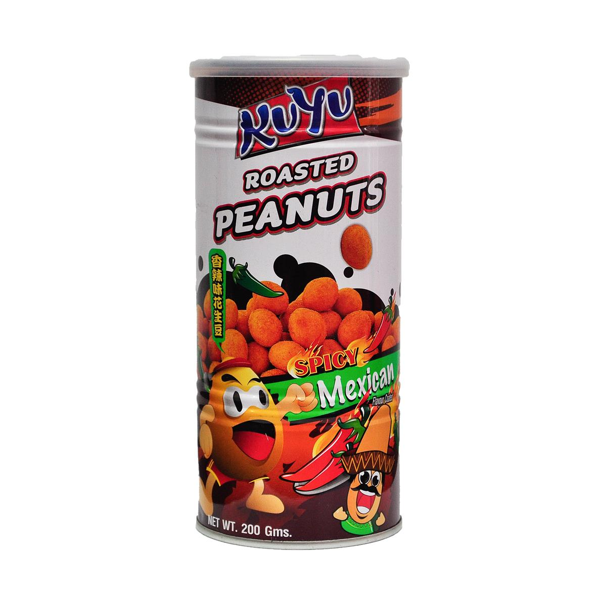 Kuyu Roasted Peanut Spicy Mexican 200g