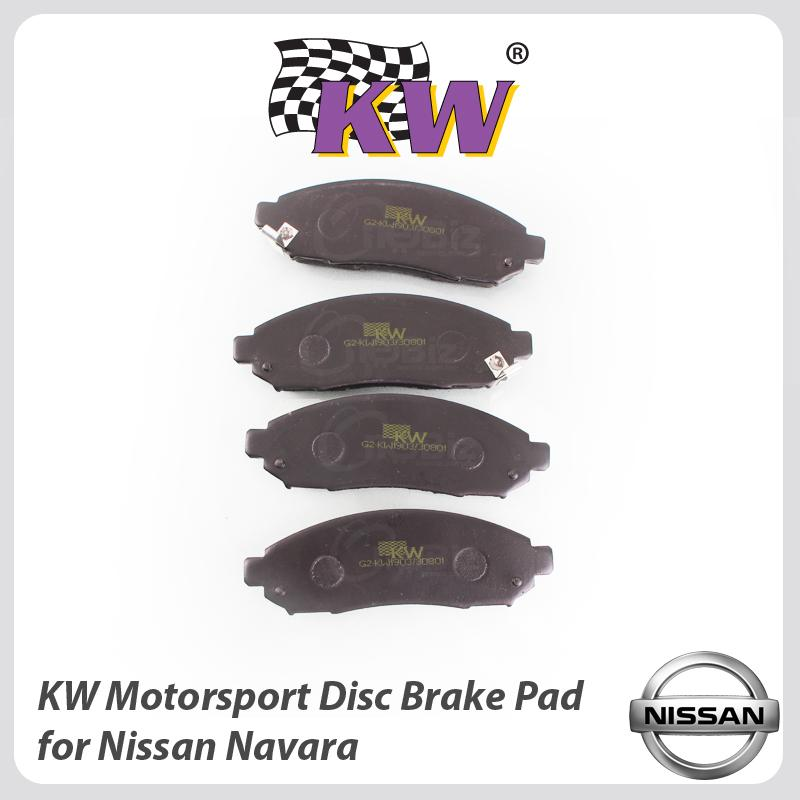 KW Motorsport Disc Brake Pad For Nissan Navara