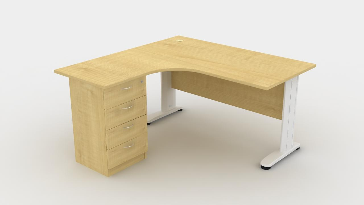 edit l shape office table c w 4 drawer l r 1818 item id 165856833