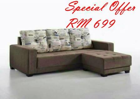L-SHAPE SOFA SET OFFER