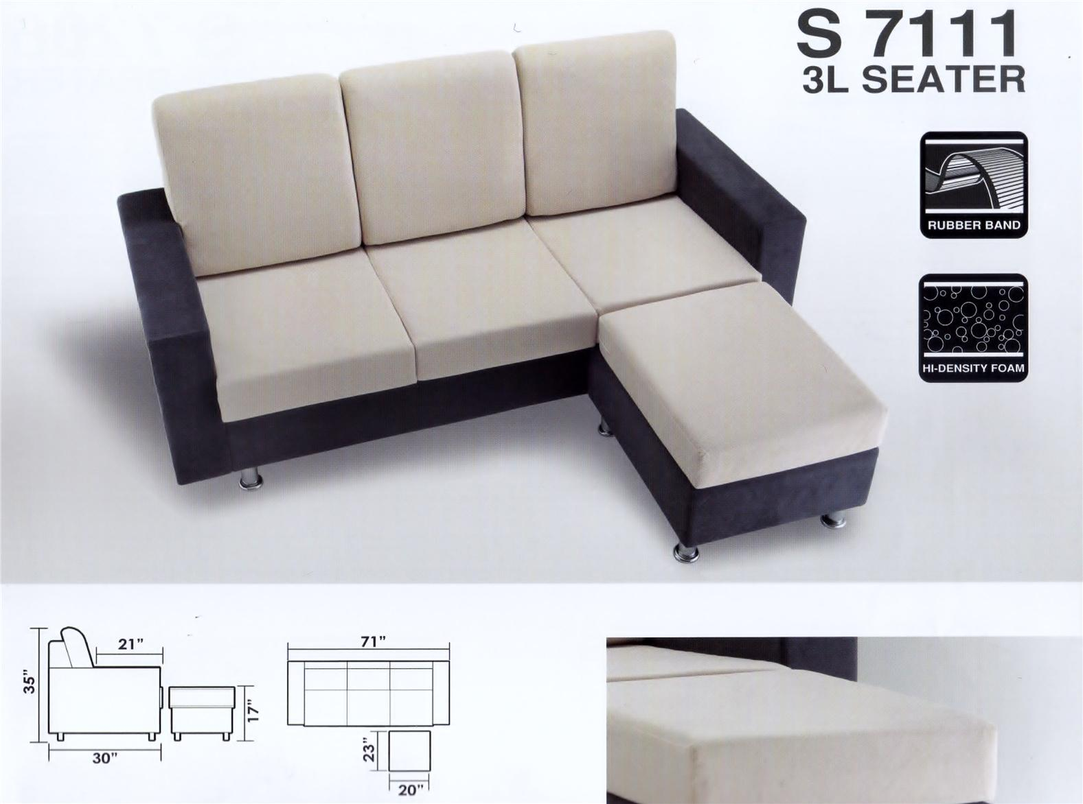L-Shaped Sofa Chair