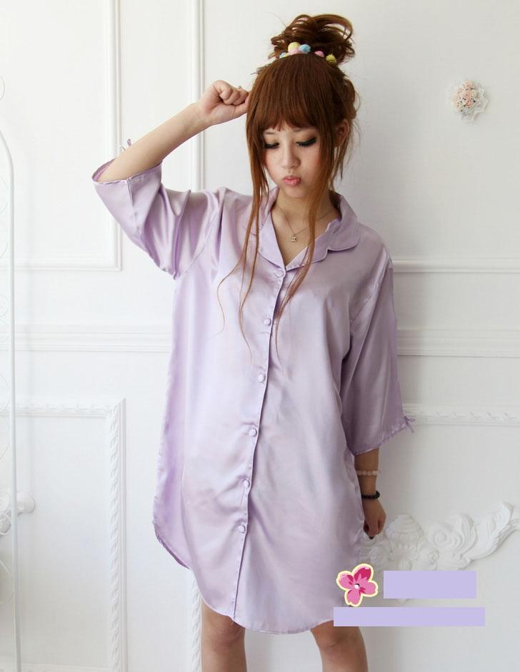 L880 ice silk sleepwear sleeping dre (end 11/2/2017 4:38 PM) - photo#34