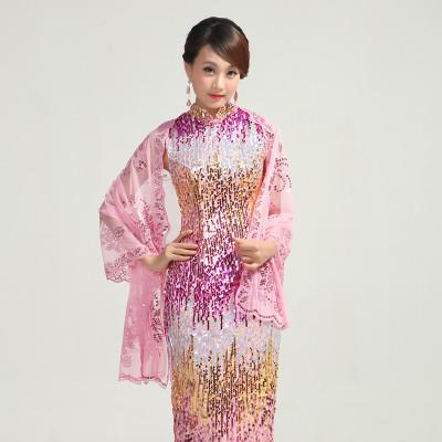 Lace Scarf Cheong Sam Scarf Fashion Accessories