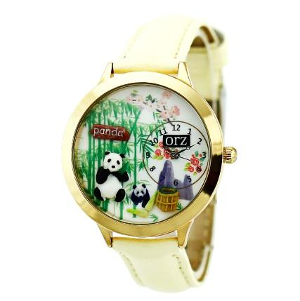 ladies watch most Popular Women Cute panda Watches MW00010
