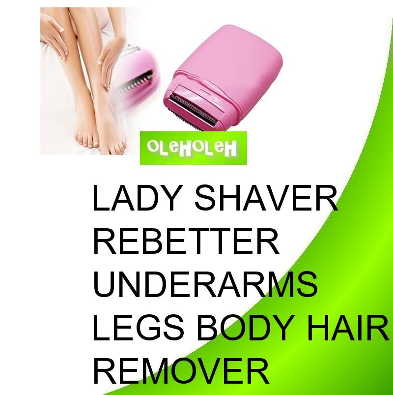 Lady Shaver Rebetter Underams Legs Body Hair Remover Trimmer