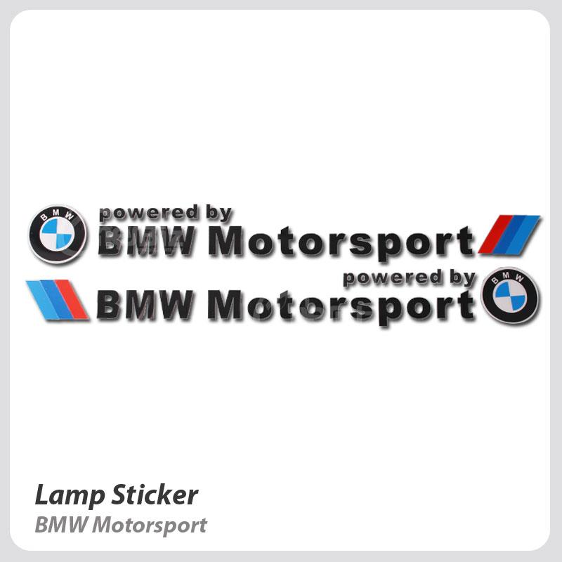 Lamp Sticker - BMW Motorsport