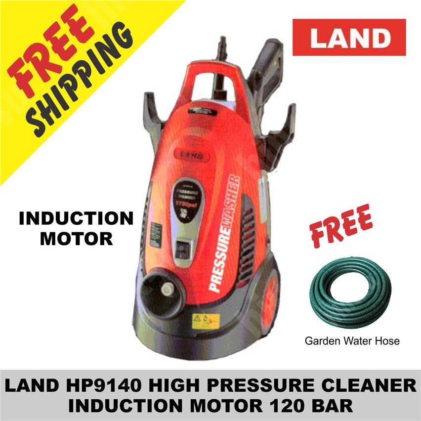 LAND HP9140 HIGH PRESSURE CLEANER  INDUCTION MOTOR 120 BAR