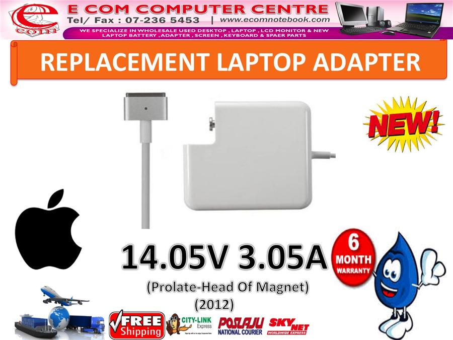LAPTOP ADAPTER FOR APPLE SERIES MACBOOK 14.05V 3.05A (head of Magnet)