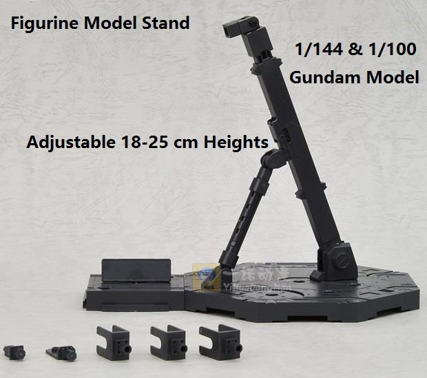 Large Gundam Figurine Stands Base 1/100 & 1/144