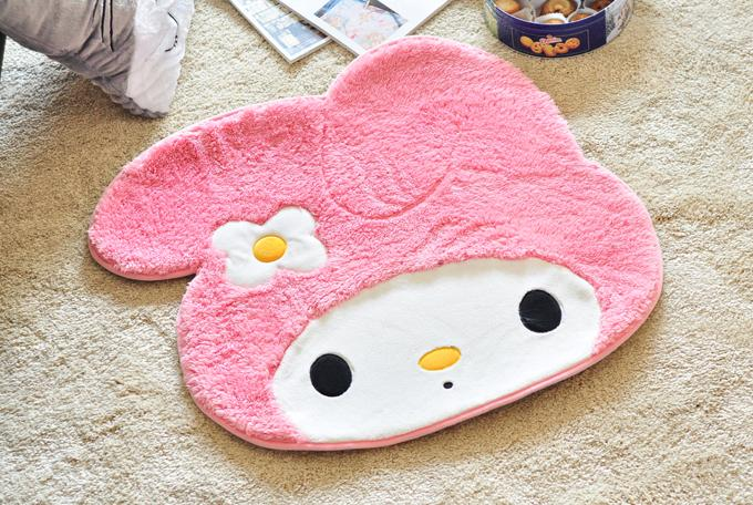 Large Melody Soft Plush Indoor Decorative Mat Ready Stock