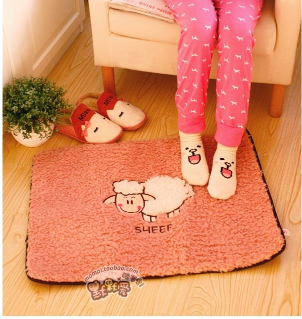 Large Sheep Indoor Decorative Soft Mat Ready Stock