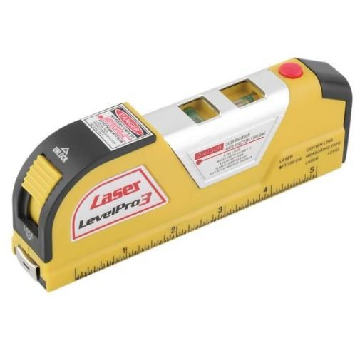 Laser Level Horizontal Vertical Line Tape 8 FT.