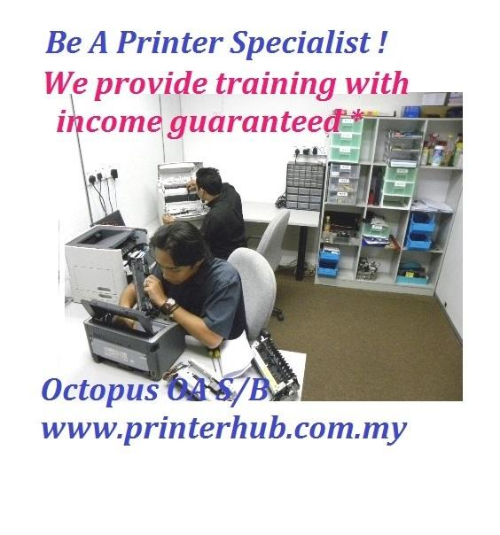 Be A Laser Printer Specialist