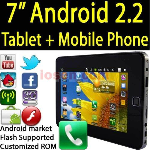 LATEST 7' Simcard Phone Apad Tablet, SIM SLOT,WIFI 3G,