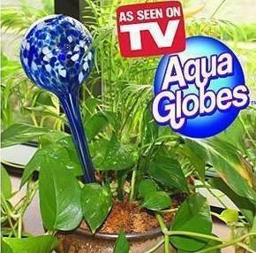Latest aqua globes auto watering tool glass plant watering for Garden shed johor