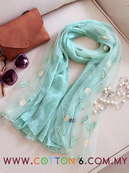 Latest Design Embroidery Scarves