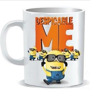 LATEST DESPICABLE ME MINIONS COLOR CHANGING MUG COFFEE CUP FOR SALES