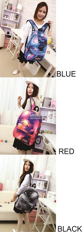 LATEST DIGITAL SPACE PRINT BACKPACK TRENDY SPORTS BAG