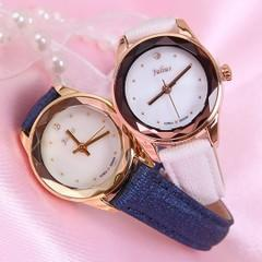 LATEST-JULIUS KOREAN FASHION MIRROR CUTTING WATERPROOF LADIES WATCH