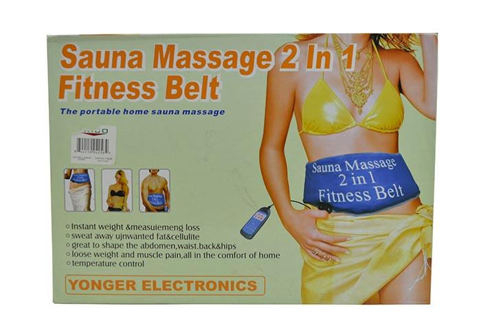 LATEST-Portable Home SAUNA MASSAGE 2 in 1 Fitness Belt For SALES!!!