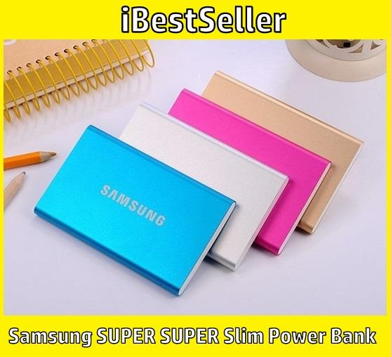 Latest Samsung Power Bank Ultra Slim 20000mAh Slim Power Bank 150g