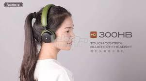 NEW LATEST TECH TOUCH BLUETOOTH HEADSET REMAX 300HB