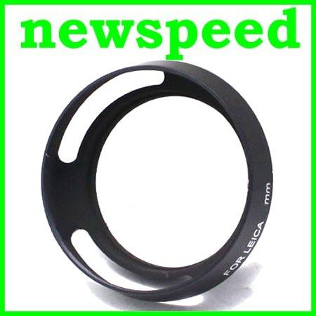 New LAVA 49mm Leica type Tilted Vented Metal Lens Hood (Good Quality)