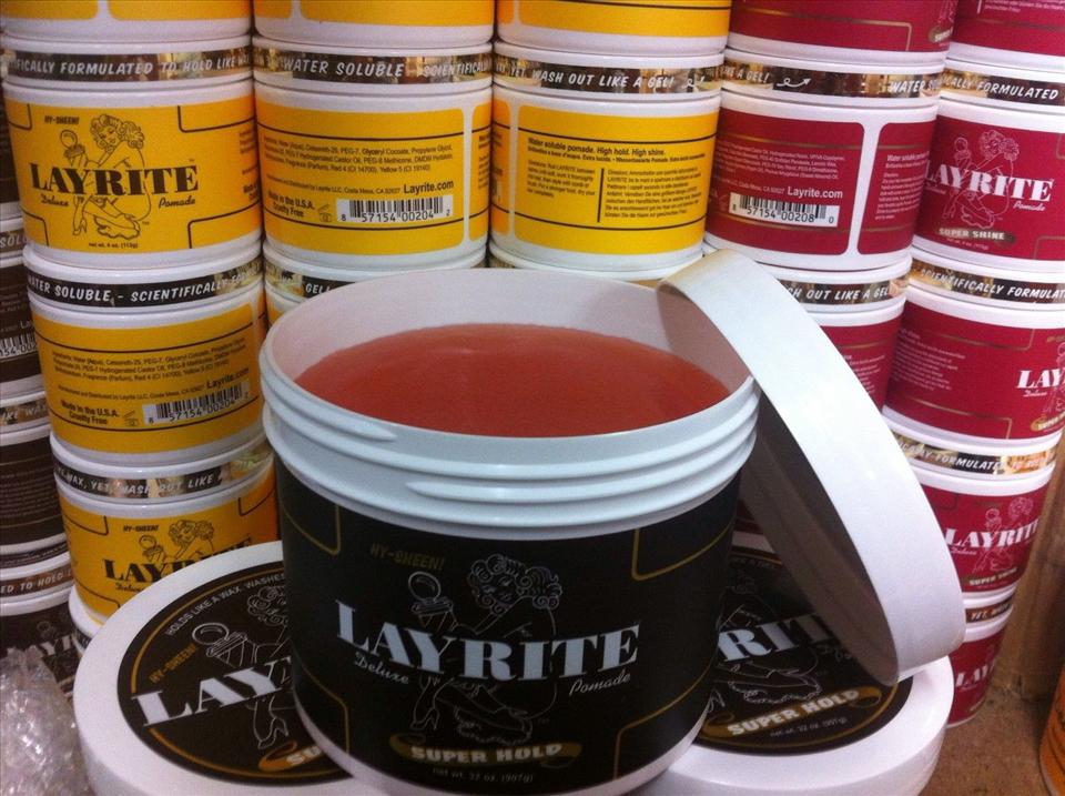 Layrite Pomade Original / Super Shine / Super Hold Made in USA