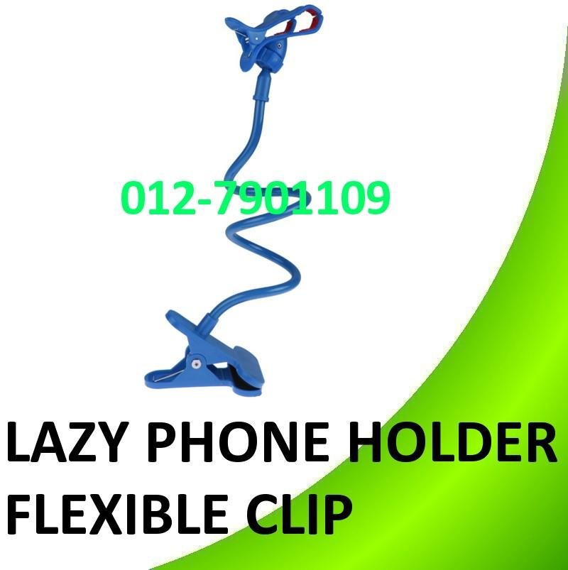 Lazy Bed Bracket Phone Holder Clip Flexible Mount Handphone Stand