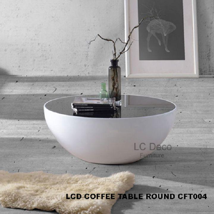 LC DECO COFFEE TABLE ROUND CFT004 (MEJA KOPI)