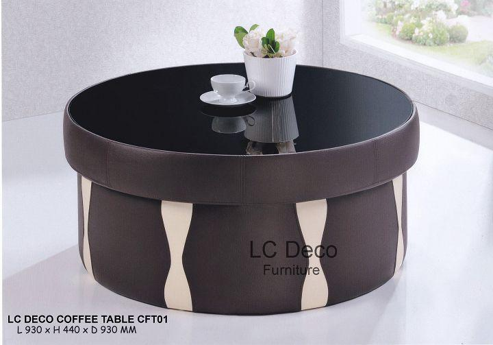 LC DECO COFFEE TABLE CFT01(MEJA KOPI)