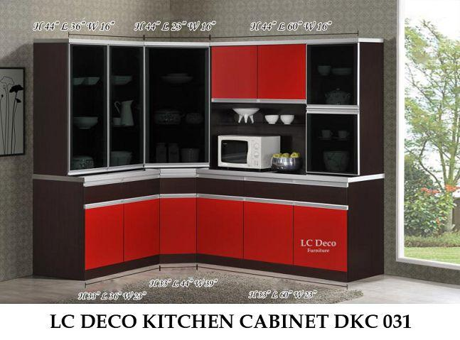 lc deco kitchen cabinet dkc 031 alamari dap end 7 26 2016. Black Bedroom Furniture Sets. Home Design Ideas