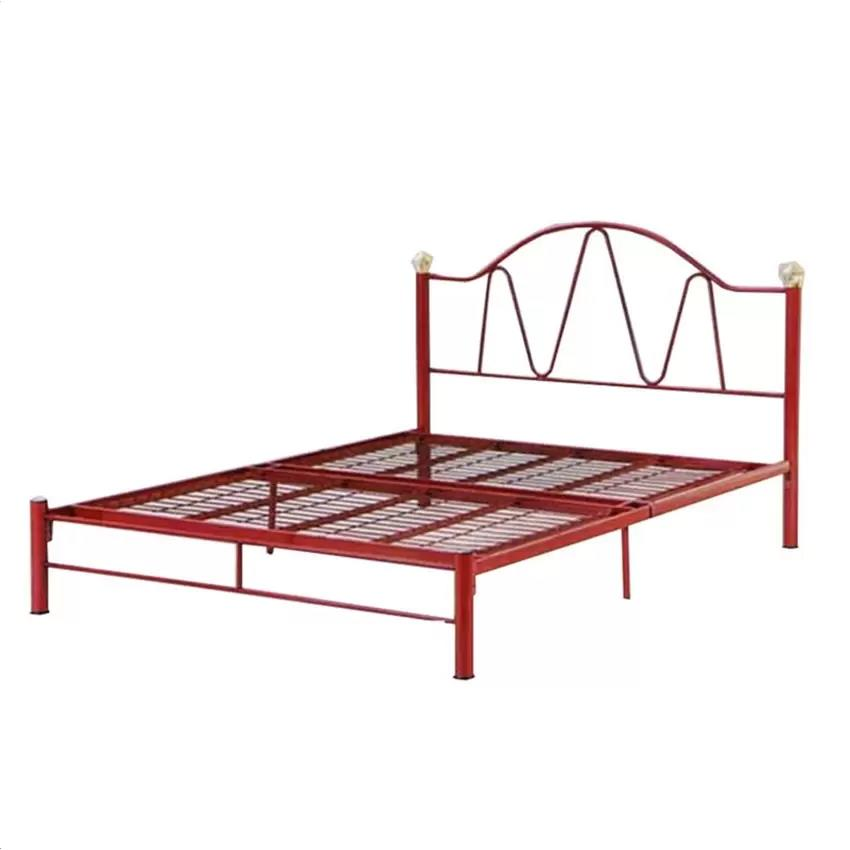 LC Deco Metal Queen Bed Frame (Katil)