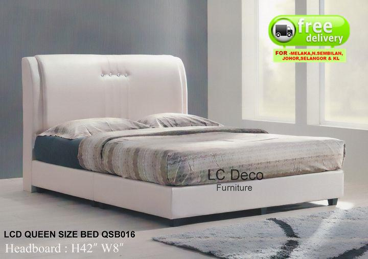 LC DECO QUEEEN SIZE DIVAN BED QSB016(KATIL)
