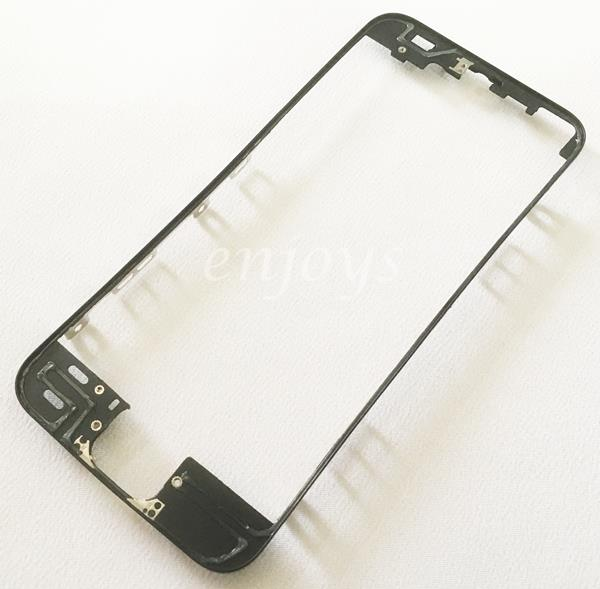LCD Digitizer Middle Plastic Frame for Apple iPhone 5S ~BLACK /WHITE