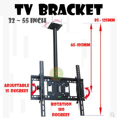 Lcd Led Tv Wall Ceiling Mount Bracket (32 ~ 55 Inch,180 degrees)