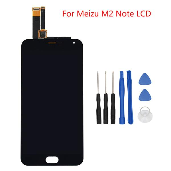 LCD Screen With Touch Screen For Meizu M2 Note+Tools