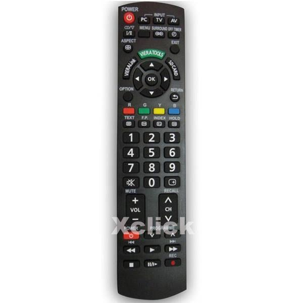 LCD TV Remote- Comaptible for Panasonic