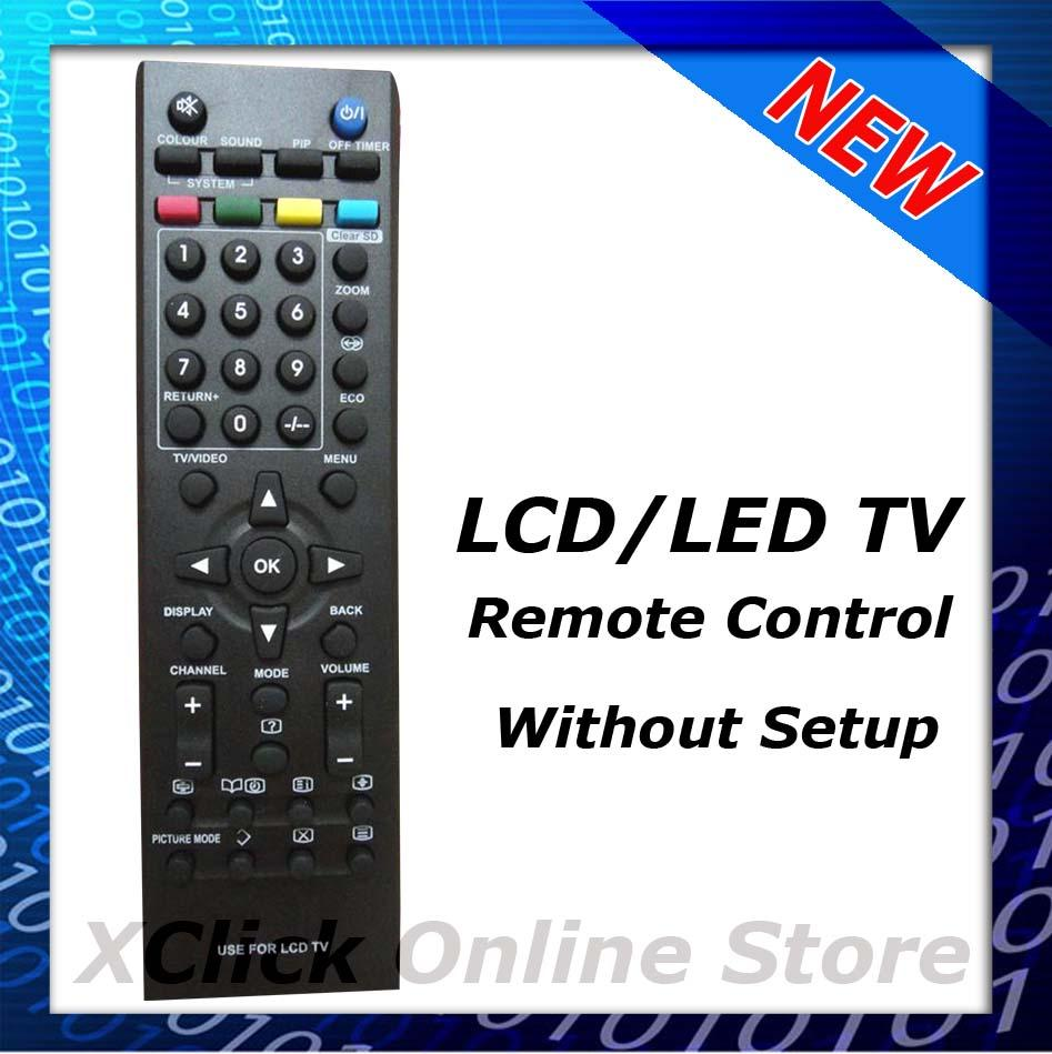 LCD TV Remote control- Compatible for JVC