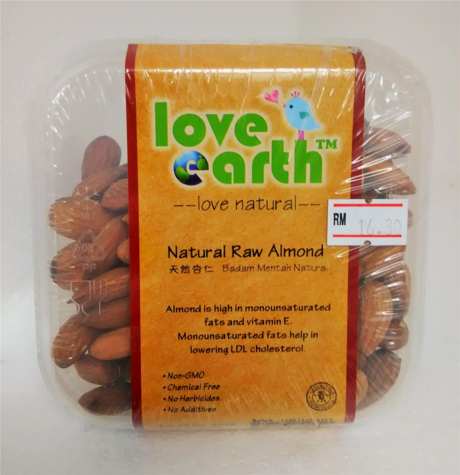 LE Natural Raw Almond 200g
