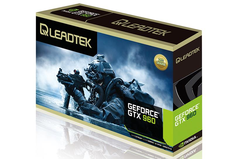 # LEADTEK WINFAST GTX 960 HURRICANE 4GB D5
