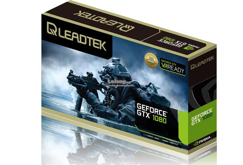LEADTEK WINFAST NVIDIA GEFORCE GTX 1080 HURRICANE 8GB GDDR5X GRAPHIC